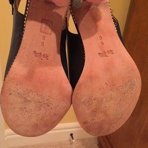 Coach Shoes - COACH Peeptoe Booties